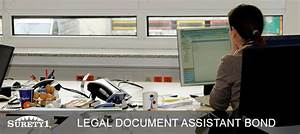Underwriting a surety bond for Legal document assistant bond california
