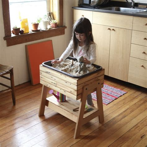 Kitchen Sandbox! Indoor Sand and Water Table   Elephant