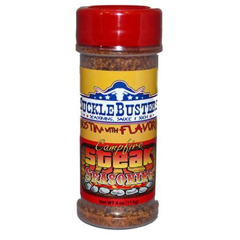 steak seasoning sucklebusters cfire steak seasoning 4 oz seasonings rubs texasfood com