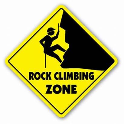 Climbing Rock Clipart Sign Zone Clip Gear