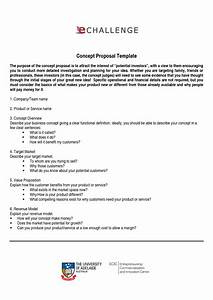 idea proposal template best professional templates With business idea template for proposal