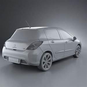 308 Peugeot 2012 : peugeot 308 2012 3d model hum3d ~ Gottalentnigeria.com Avis de Voitures