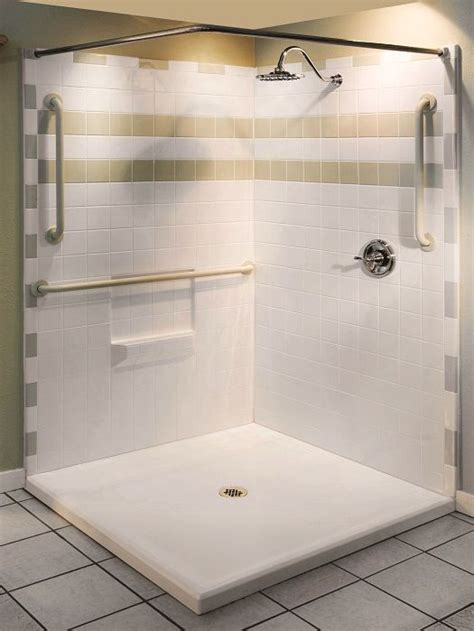 handicap walk in shower best 25 handicap shower stalls ideas on ada