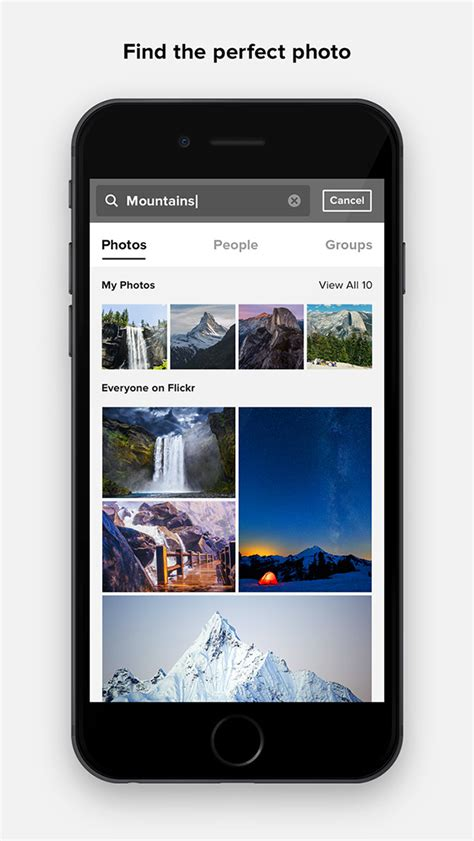 cool iphone apps cool app update flickr for iphone and auto uploader