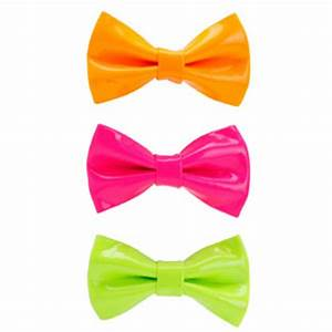 Image Gallery neon hair bows