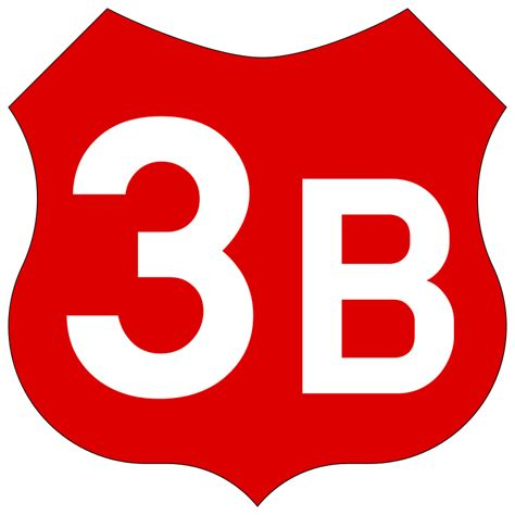 The In 3b by File Ro Roadsign 3b Svg