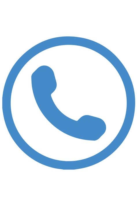 telephone icon png blue telephone symbol for email