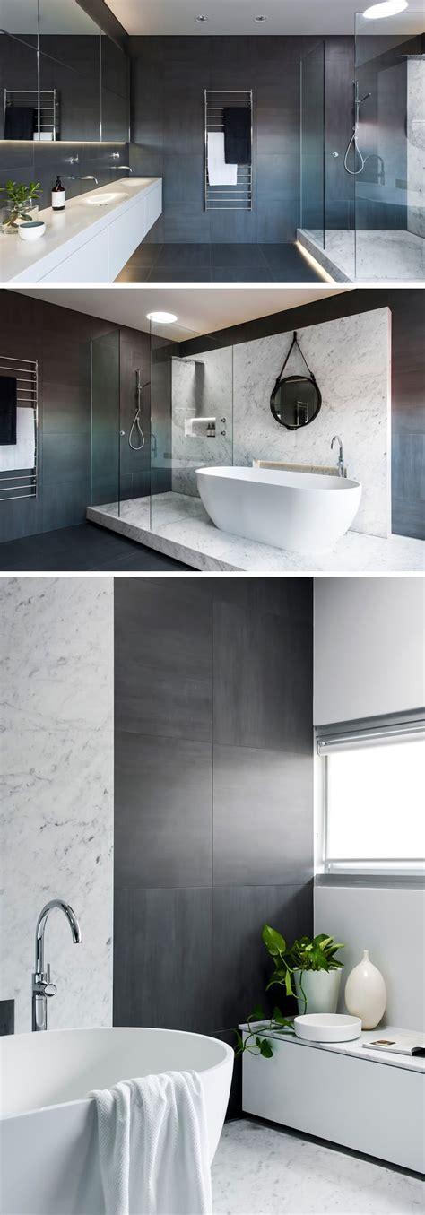 Bathroom Tile Ideas Floor by Bathroom Tile Idea Use Large Tiles On The Floor And