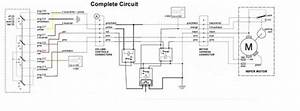 Viewing Image  Combined Wiring Diagram Early X19 Column
