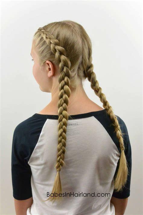 tight dutch braids   hair braids