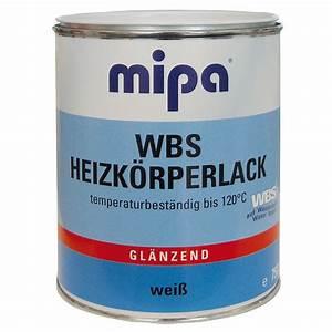 Lack Für Heizkörper : heizk rperlack wbs f r heizungen und heizk rper mipa ~ Markanthonyermac.com Haus und Dekorationen