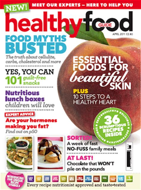 guide cuisine magazine research health food magazines professional practice for photo communication
