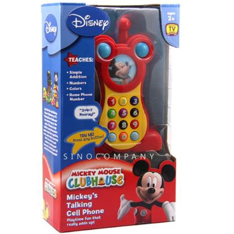 mickey mouse cell phone new disney mickey mouse clubhouse mickey s talking cell