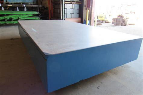 "HERMAN STONE 14'x8'x24"" Granite Surface Plate Table Block ..."