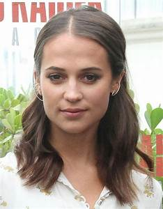 Alicia Vikander - Tomb Raider Photocall at the Unique ...