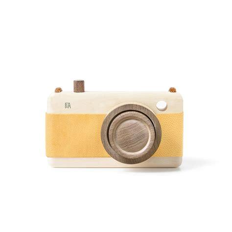 chambre appareil photo appareil photo en bois jaune et pour