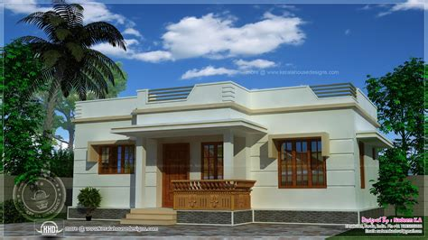 Single Floor Kerala Home Design 800 Square Feet