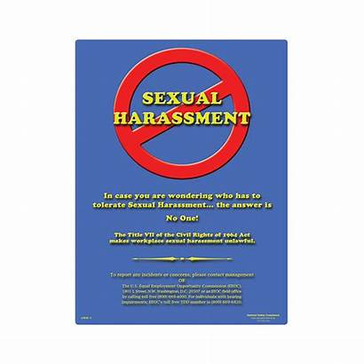 Sexual Harassment Poster Commit Osha Training Safety