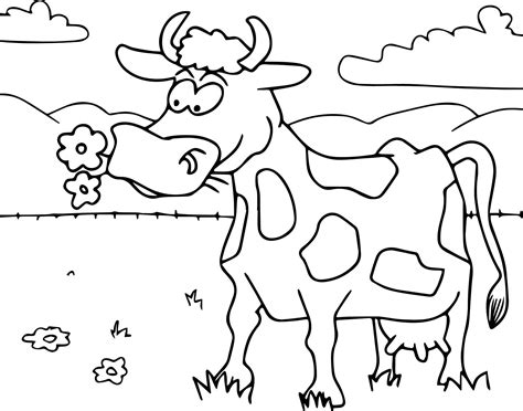 cool  cartoon funny coloring page coloring pages