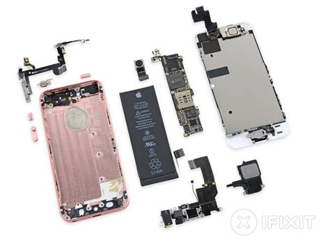 iphone 5s parts ifixit tears iphone se reveals some interchangeable