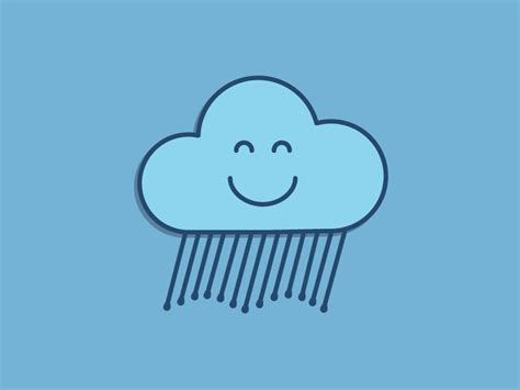 Pencil And In Color Clouds Clipart Face