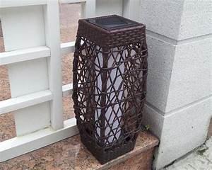 Lampe Solaire Terrasse : clairage ext rieur solaire que la lumi re soit ~ Edinachiropracticcenter.com Idées de Décoration