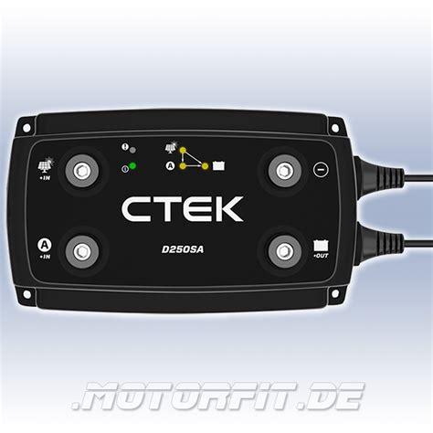 Lade A Batterie by Ctek D250sa 12v 20a Ladewandler Temp Sensor Agm