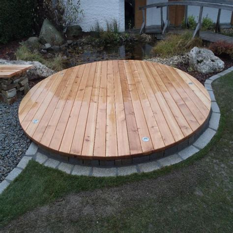 Pool Aus Holz Selber Bauen by Poolabdeckung Aus Holz Selber Bauen Wohn Design