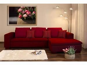 Salon canape rouge quelle couleur avec du gris anthracite for Tapis rouge avec ensemble canapé tissu