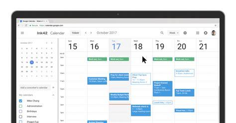 google calendar calendar for web gets a much needed makeover