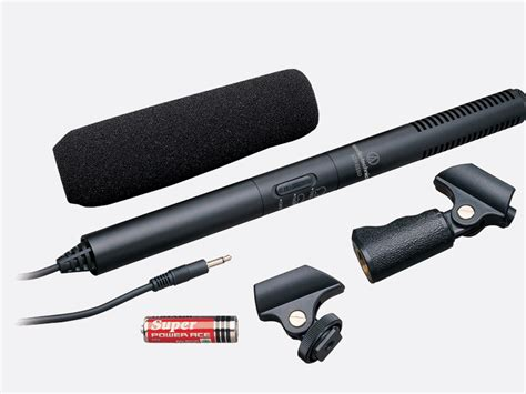 Audio Technica Atr6550 Microphone Shotgun, Condenser
