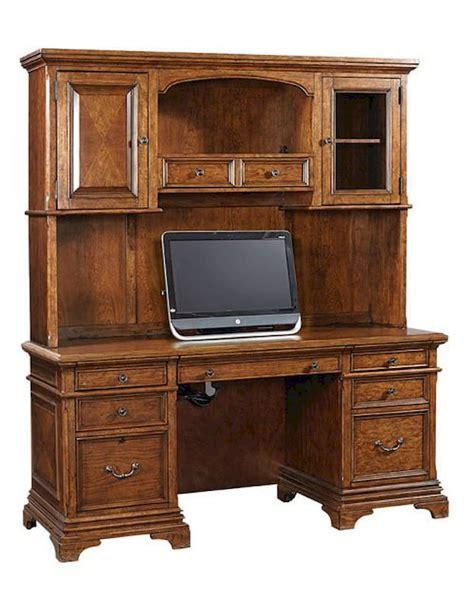 aspen home desk and hutch aspenhome credenza desk and hutch hawthorne asi26 316 319