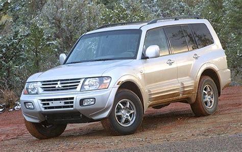 2005 Mitsubishi Montero Gas Tank Size Specs View