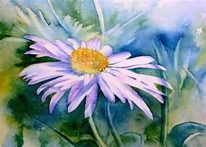 Aquarell Malen Blumen : bild margerite blumen aquarellmalerei aquarell von ~ Articles-book.com Haus und Dekorationen