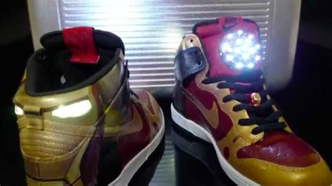 nike sneakers  intensively modified    iron man designtaxicom