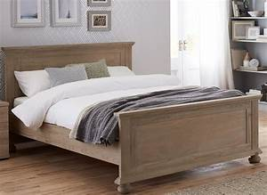 Jameson Natural Pine Wooden Bed Frame