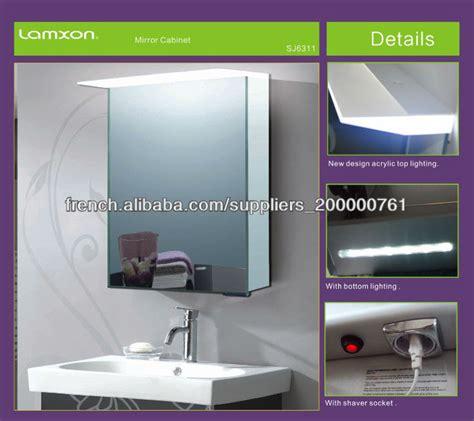 suprieur miroir salle de bain avec prise electrique