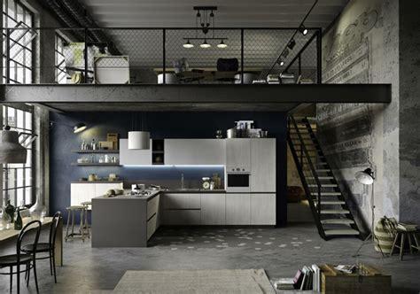 disenos de cocinas estilo industrial elegante  atractivo