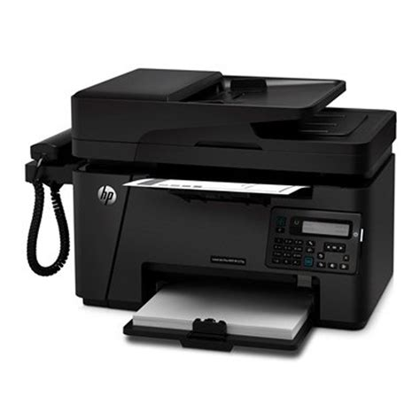 There is no control panel extending across the apparatus offering physical buttons only the how to install the hp laserjet pro mfp m127fw driver? HP LaserJet Pro MFP M127fw+ Handy Phone Multifunction Laser Printer