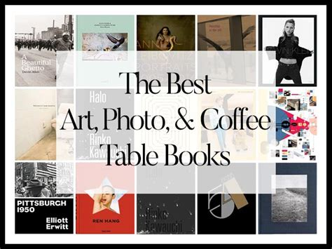 The Best Art & Photography & Coffee Table Books Of 2017