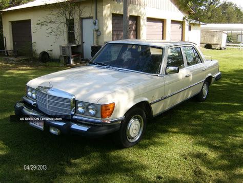 Mercedes 280se, Classic Luxury Car, 1977