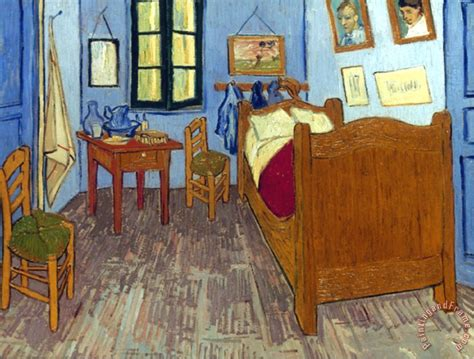 Gogh Bedroom Painting by Pablo Picasso Vincent Gogh Gogh Bedroom 1889