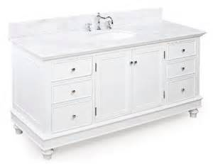 buy bella 60 inch bathroom vanity white product for sale