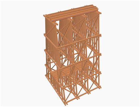 Double Deck Wood Trestle Bridge Model Railroader