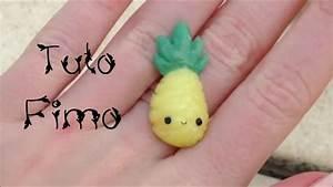 Tuto Pate Fimo : tuto fimo l 39 ananas kawaii youtube ~ Dode.kayakingforconservation.com Idées de Décoration