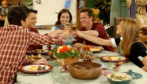 thanksgiving episode  friends ranked  campus