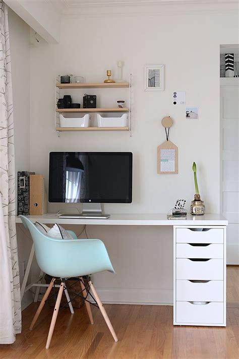 Arbeitszimmer Schrank by Stylisher Arbeitsplatz Aus Ikea Alex Schrank Ikea Hacks