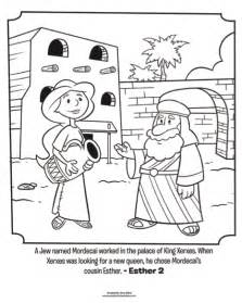 esther bible story colouring pages page 2 - Esther Bible Story Coloring Pages