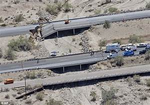 I-10 bridge battered by California's storms had passed ...