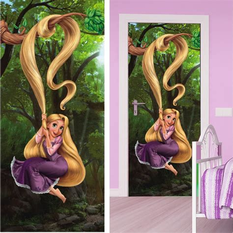 decoration chambre raiponce disney princesse raiponce décoration murale poster de